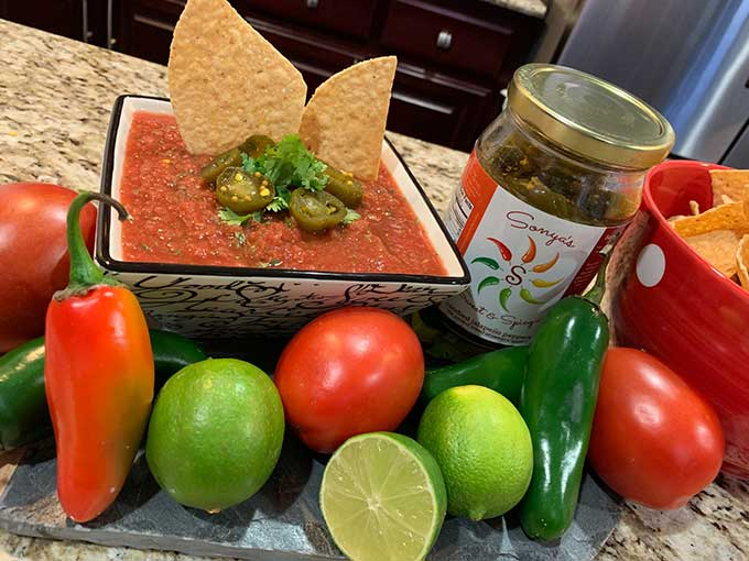 Cantina Style Tomato & Sweet Jalapeno Salsa Recipe Easy and Delicious