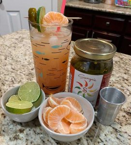 Sonya Sweet Spicy - Pineapple Mango Spicy Cocktail
