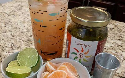 Pineapple Mango Spicy Cocktail Punch Recipe