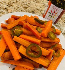 Sonya Sweet Spicy - Spicy Carrots in Instant Pot
