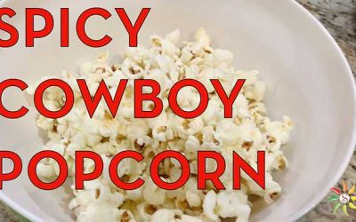 Spicy Jalapeno Cowboy Popcorn Recipe, Stovetop Method