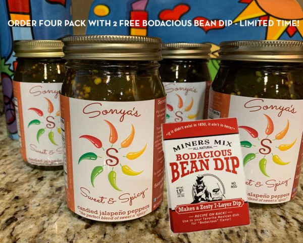 Sonya Sweet Spicy- Case Pack with Bonus