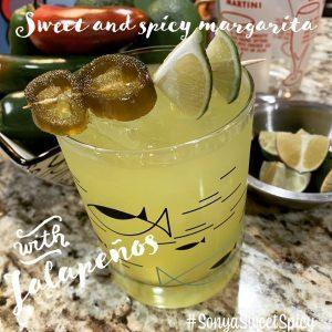 Sonya Sweet Spicy - Spicy Margarita Cocktail