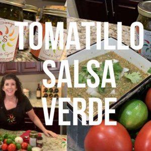 Sonya Sweet Spicy - Tomatillo Verde Salsa