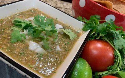 Tomatillo Jalapeno Salsa Verde Homemade Recipe