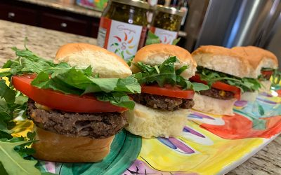 Sweet and Spicy Black Bean Sliders EASY Recipe