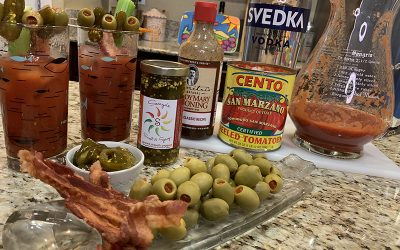 Sweet & Spicy Bloody Mary Recipe with Jalapenos and Bacon