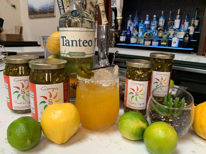 Sonya Sweet Spicy - Apricot Margarita