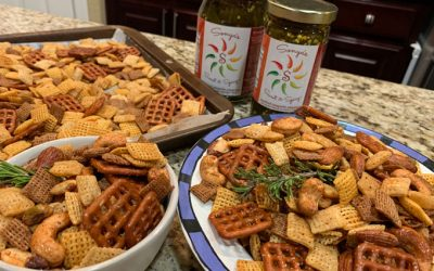 The BEST Sweet & Spicy CHEX MIX Snack for the Holiday Snacking