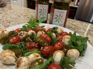 Sonya Sweet Spicy -Spicy Caprese Salad