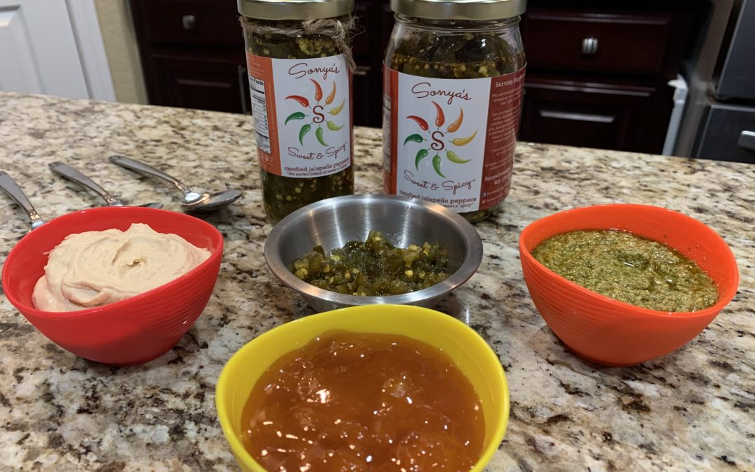 Make Any Dish Sweet & Spicy in the Kitchen Hummus    Pesto    Apricot Jam (Kid Friendly)