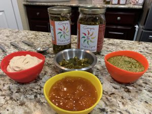 Sonya Sweet Spicy -Easy Sauces and Dips