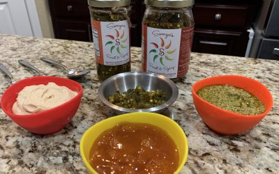 Make Any Dish Sweet & Spicy in the Kitchen Hummus |  Pesto |  Apricot Jam (Kid Friendly)