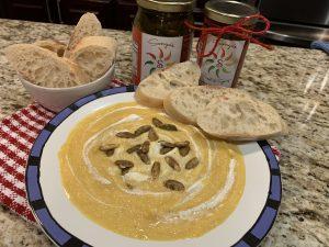 Sonya Sweet Spicy - Butternut Acorn Soup