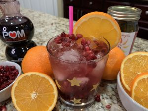 Sonya Sweet Spicy - Pomegranate Ginger Spiced Cocktail