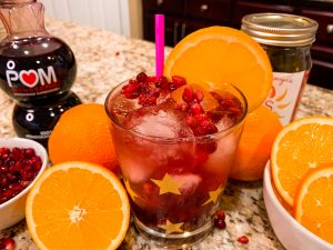 Sonya Sweet Spicy - Pomegranate Ginger Cocktail