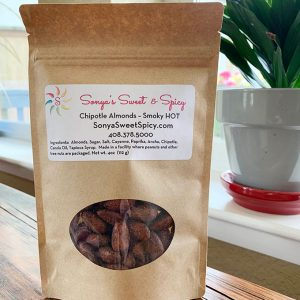 Sonya Sweet Spicy - Chipotle Smoky Almonds