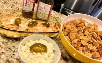 Recipe Recap Artichoke Dip, Spicy Egg Salad and Spicy Chex Mix