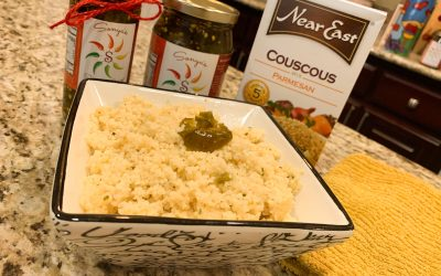 Spicy Couscous RECIPE with Jalapeno and Parmesan
