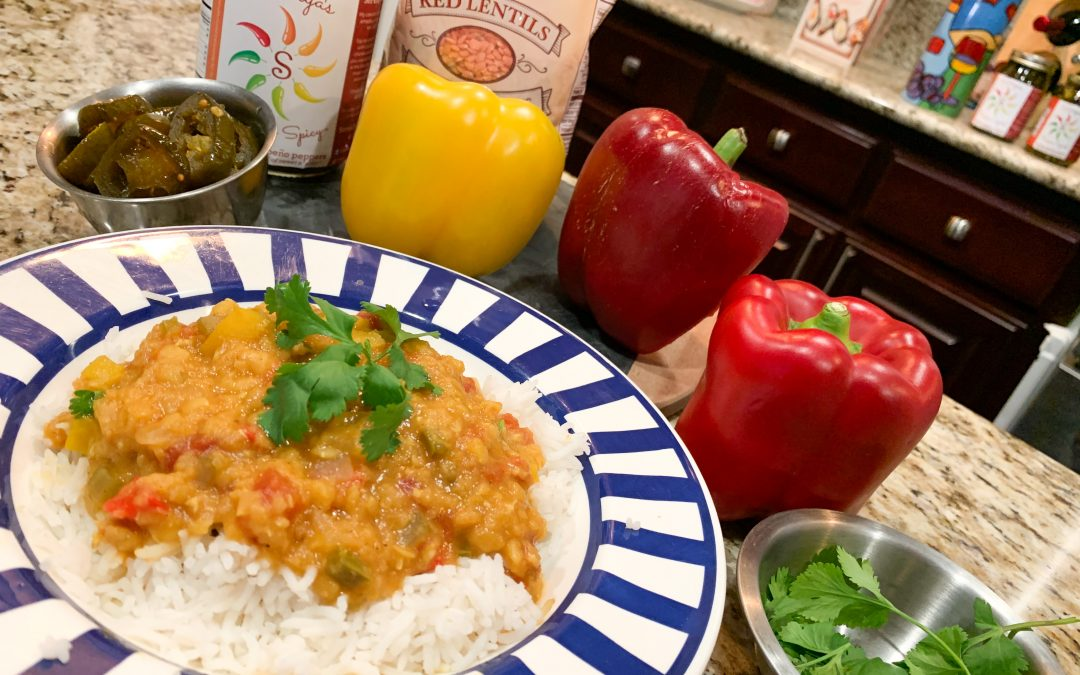 Red Lentil Curry – Instant Pot Easy & Flavorful