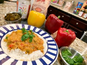 Sonya Sweet Spicy - Red Lentil Curry Dish