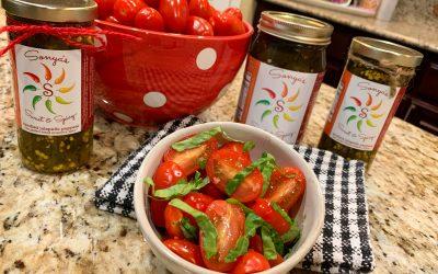 How to Make Healthy Spiced Balsamic Vinaigrette Tomato Salad