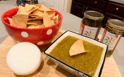 Roasting Tomatillos for Salsa Verde EASY RECIPE Homemade