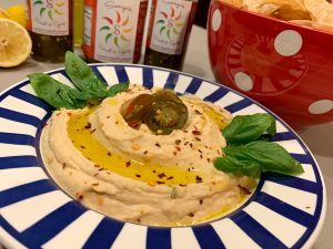 Sonya Sweet Spicy - Homemade Spicy Jalapeno Creamy Hummus