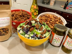 Sonya Sweet Spicy - Holiday Pecan Blue Cheese and Cranberry Salad